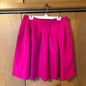 Plus Size Hot Pink Skirt